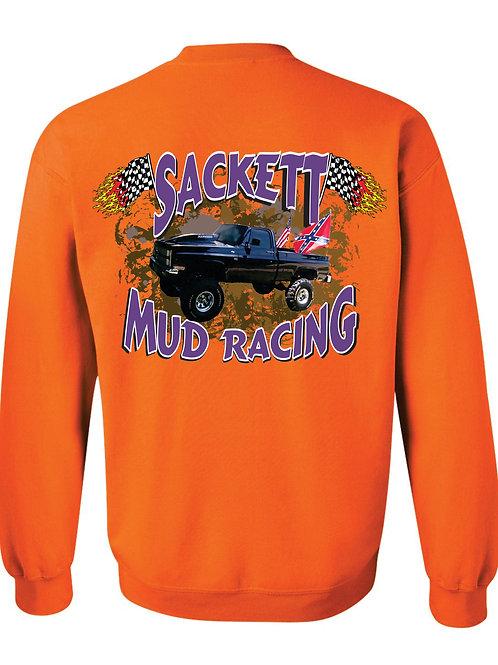 Sackett Mud Racing Crew Sweatshirt