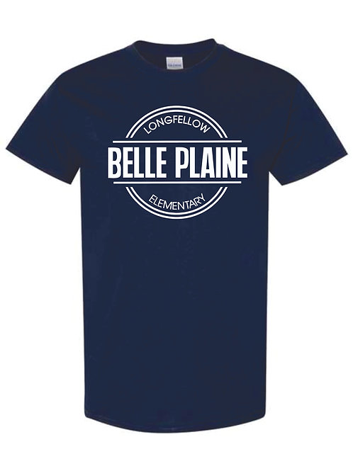 T-Shirt - Navy or Heather Grey with circle logo