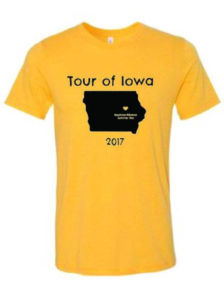 Tour of Iowa T-Shirt