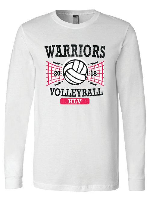 Warriors Volleyball Long Sleeve Tee