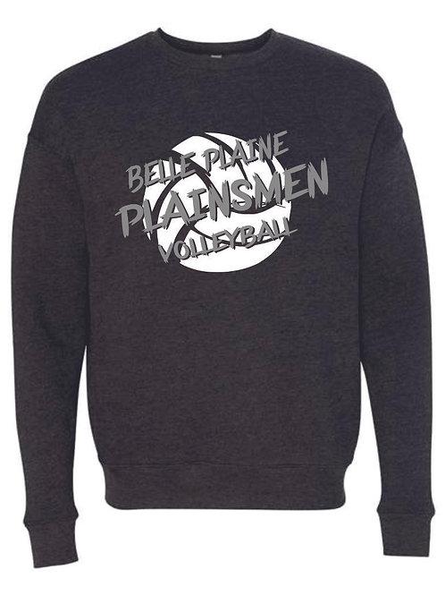 Belle Plaine Volleyball Bella Crew Neck Sweatshirt