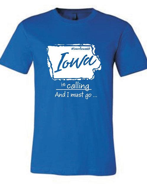 Tour of Iowa T-Shirt (All Sizes)