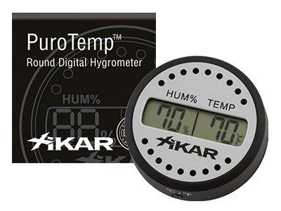Xikar Digital Round Hygrometer