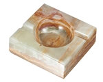 Square Onyx Ashtray