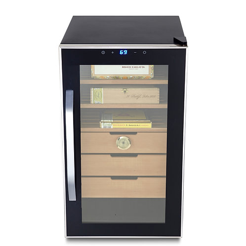 Whynter Elite Touch Control 1.8 CuFt Stainless Steel Humidor