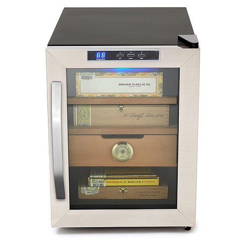 Whynter Stainless Steel 1.2 CuFt Cigar Cooler Humidor