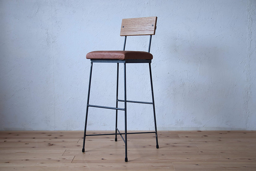 COUNTER CHAIR leather