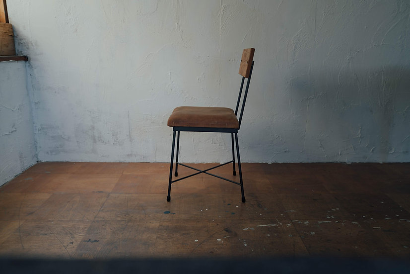 SK CHAIR  -leather-