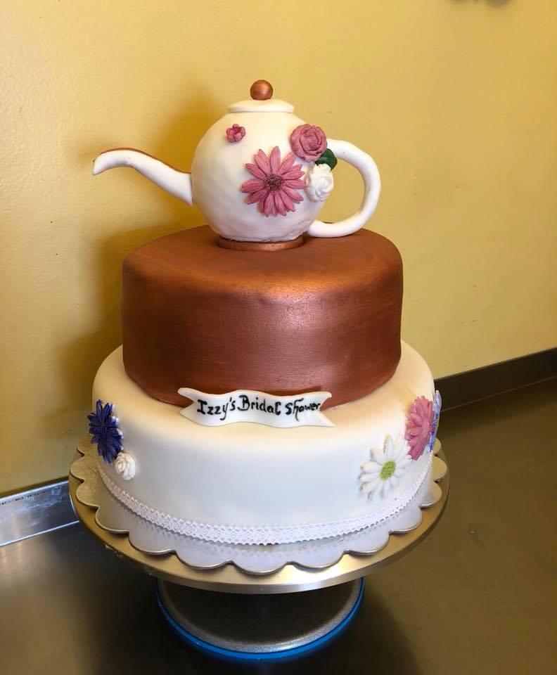 Bridal Shower Teapot