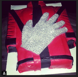 Michael Jackson Jacket & Glove