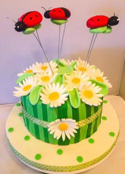 Spring Babyshower Cake