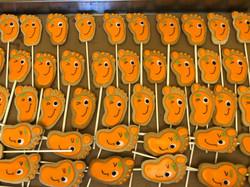 Happy Feet - Orange