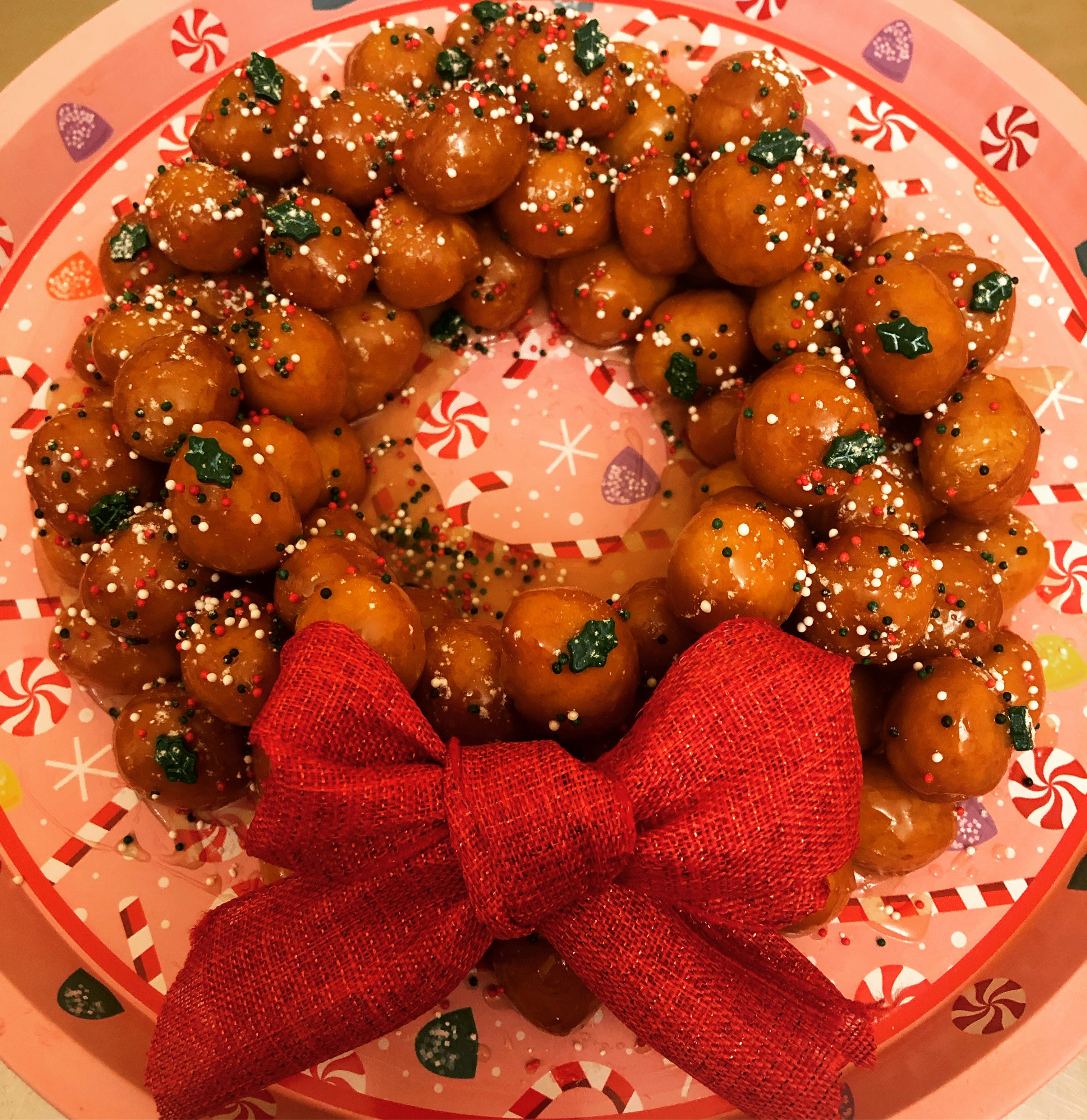 Struffoli Wreath