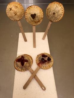 Mini Pie Pops