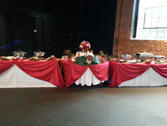 Holiday Wedding Buffet