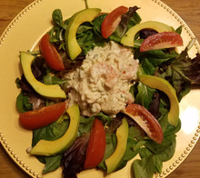 Shrimp Salad Cold Plate