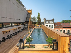 Jam Hotel rooftop with pool