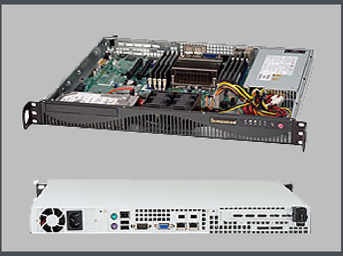900-0086   Small Server (12 HD) 1U VC Appliance
