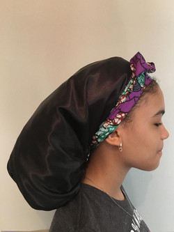 reverse purple bonnet