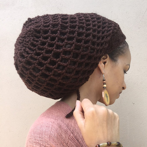 ILA Natty Nett  Crochet Tam L/XL
