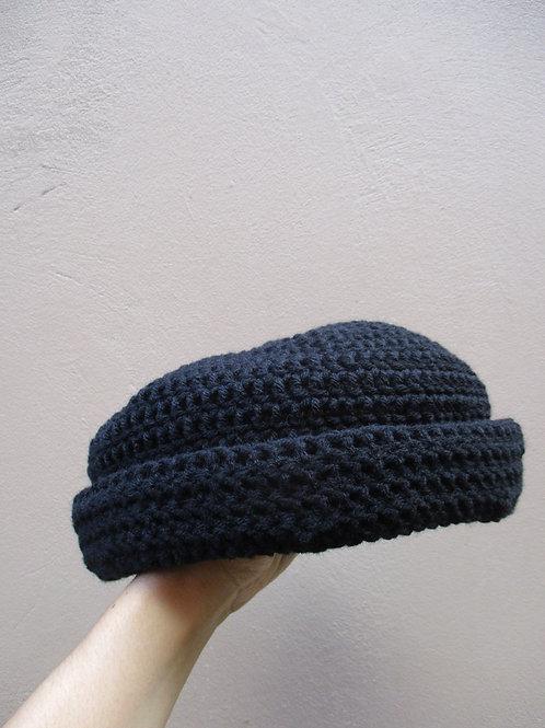 Natty Roll-Up Crochet Tam