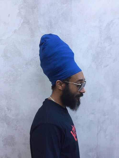 Blue Unisex Loc Cap