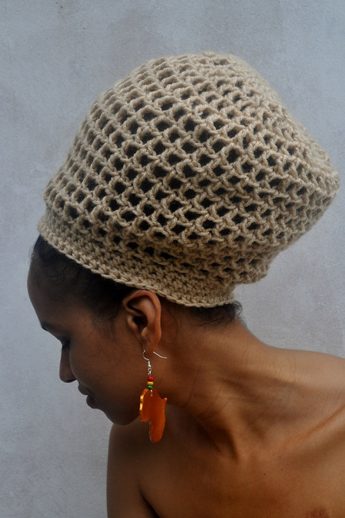 ILA Dread Nett  Crochet Tam (One Colour)