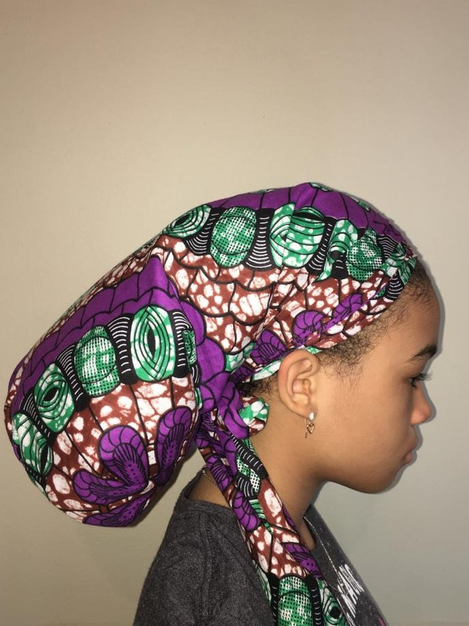 purple bonnet Ila