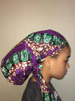 purple bonnet Ila