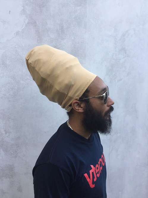 Khaki-Beige Unisex Loc Cap