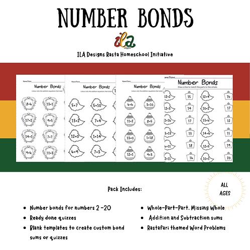 Number Bonds K-Gr2 Math Pack