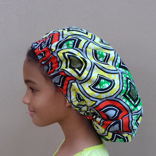 SM Afroprint Bonnet