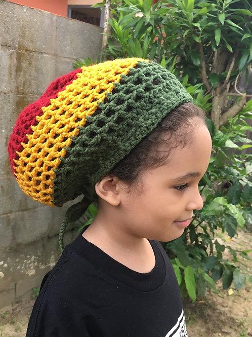 XSmall Rasta Crochet Tam