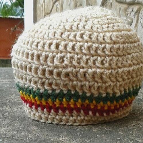 Unisex RasTa Baby Toddler Crochet Tam Hat age 1-4 yr