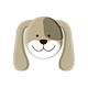 Happy Dog badge