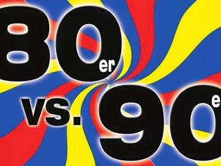 80's vs. 90's Party