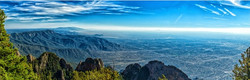 The view from Sandia Crest