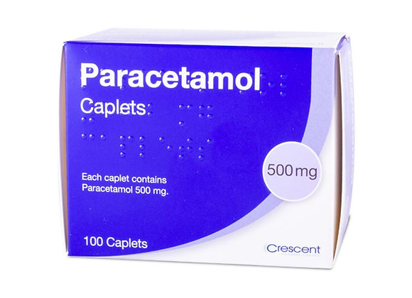 Paracetemol 500mg Caplets