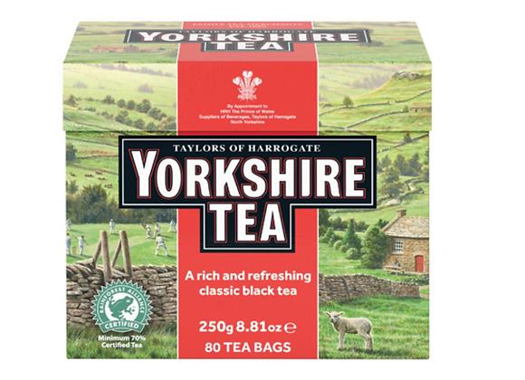 Yorkshire Tea - 80 Count