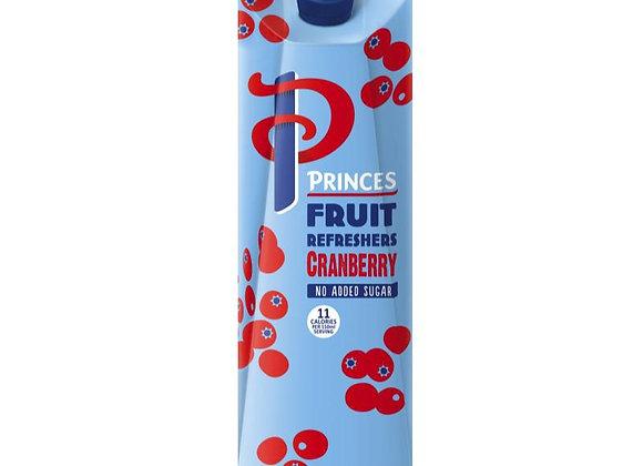 Princes Cranberry Juice 1 litre