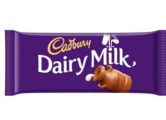 Cadburys Dairy Milk Bar