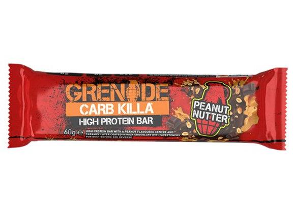 Grenade Carb Killa Peanut Butter Bar - 60g