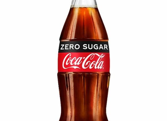 Coca Cola Zero Glass Bottle - 330ml