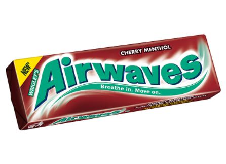 Airwaves Chewing Gum Cherry Menthol