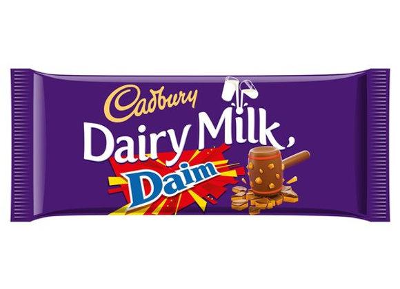 Cadbury Dairy Milk Daim Bar - 125g