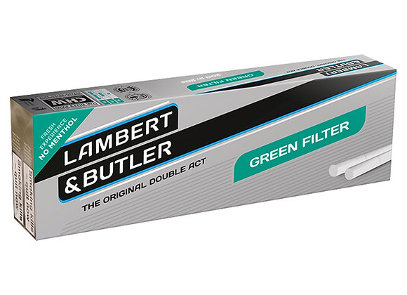 Lambert and Butler Green Filter KS - (20 Pack)