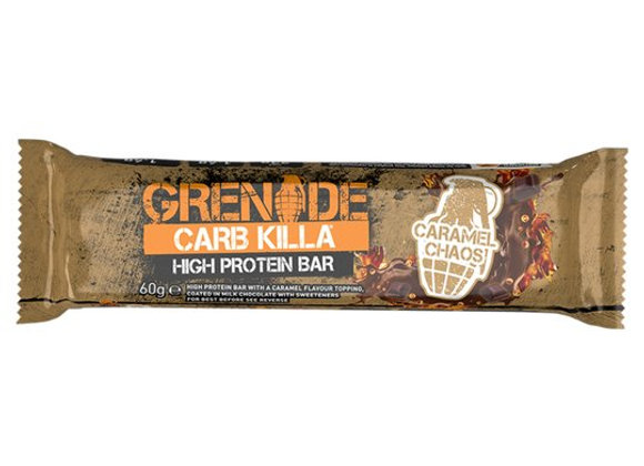 Grenade Carb Killa Caramel Chaos Bar - 60g