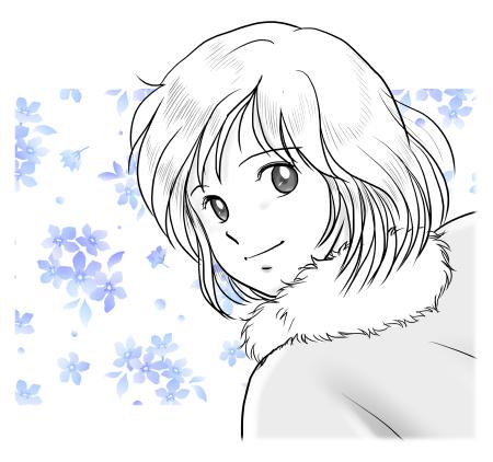 りさ_雪の情景より