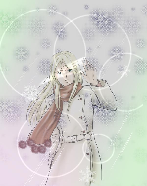 雪の情景_モーリン