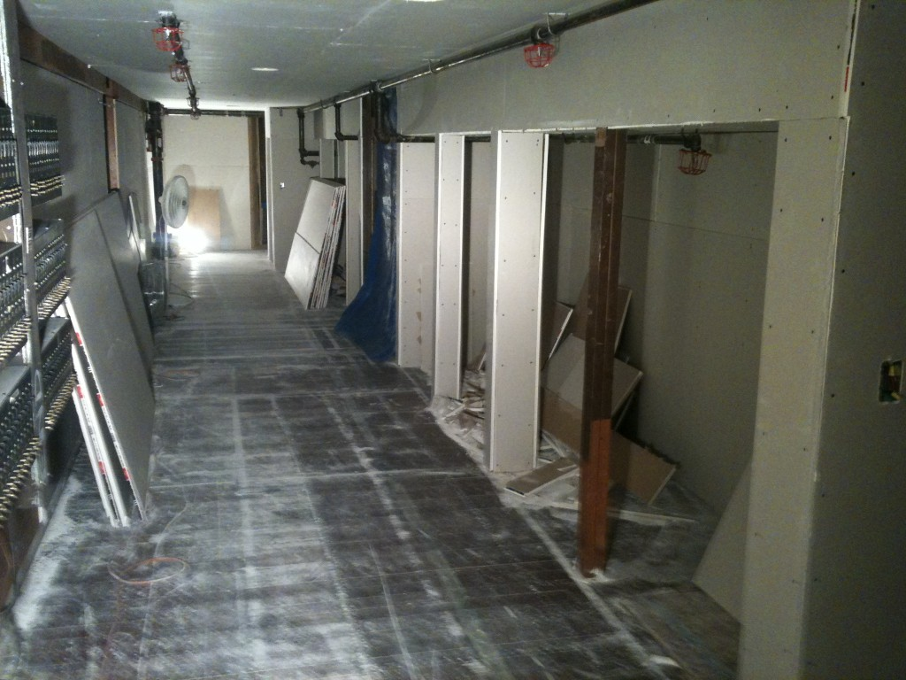 Backstage renovation